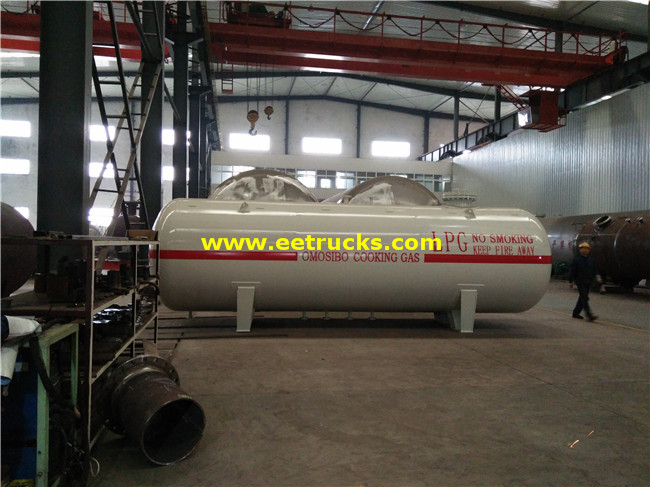 8000 Gallons Propylene Gas Bullet Tanks