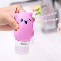 Food Grade Silicone Squeeze Shampoo Bottle