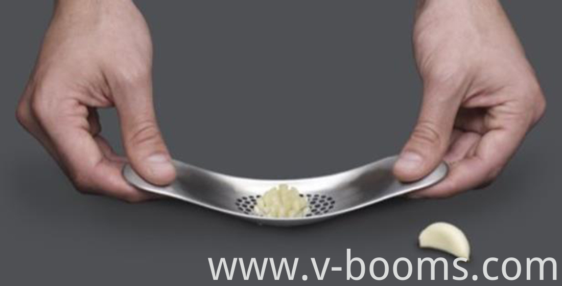 Stainless Steel Rolling Garlic Press