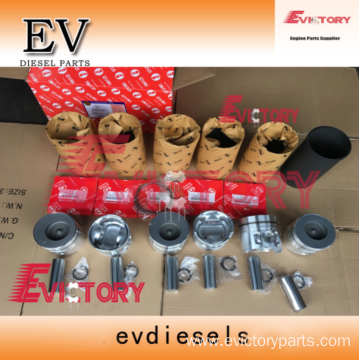 excavator PF6T engine gasket bearing piston ring liner