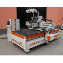 4 heads cnc carving machine Superstar CX1325