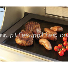 Best Price on for BBQ Grill Liner As Seen On TV Non-stick Reusable Ptfe BBq Hotplate Liner supply to Azerbaijan Suppliers