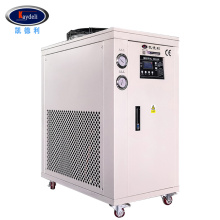 Laboratory chiller cooled water temp temp