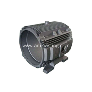 Sand casting cast iron electric motor casing