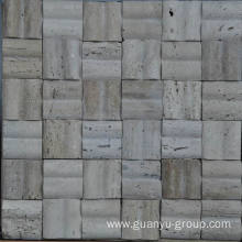 Special for Marble Tile Stone Mosaics Marble Mold Mosaic, 3 D T Style Mosaic,Travertine Stone Mosaic Tile export to Kuwait Importers