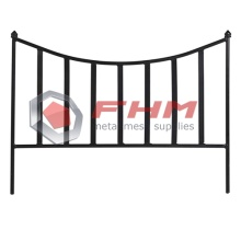 Black Metal Fencing Border for Dogs Edge Outdoor