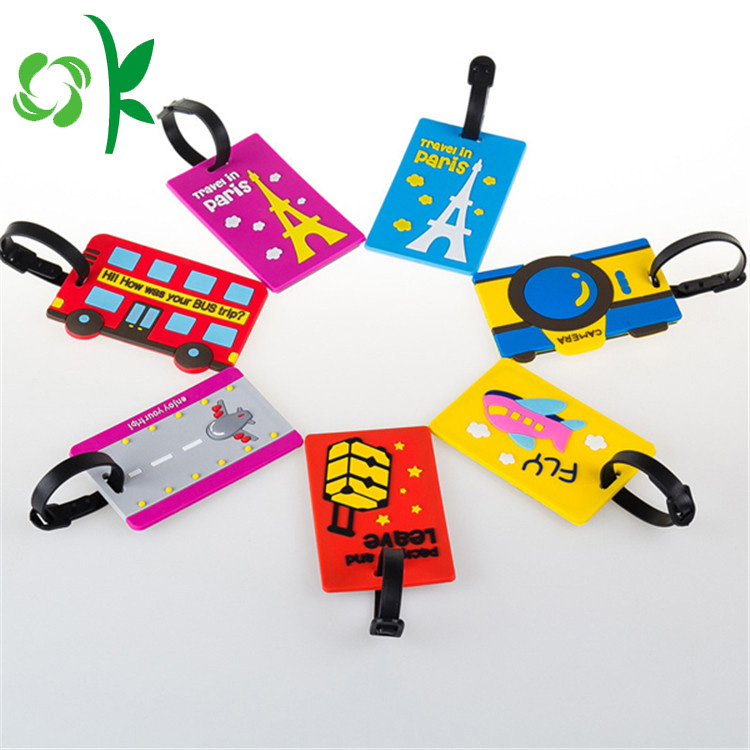 Cartoon Luggage Tags