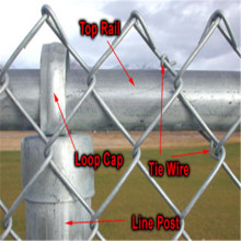 galvanized chain link fence for baseball fields