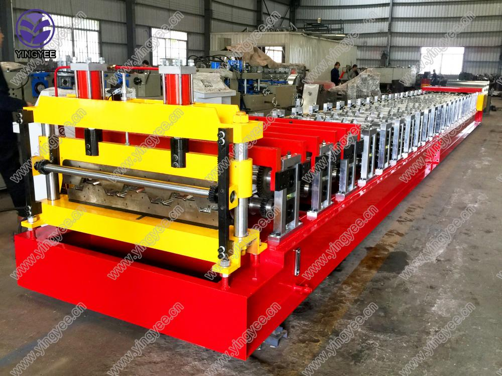 High Quality Deck Roll Forming Machine From Yingyee05