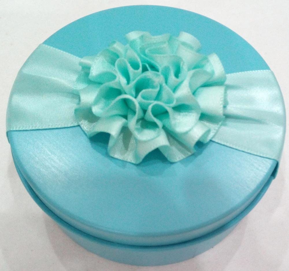 Customized small round shaped Candy Tin Gift Box