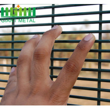powder coated anti climb high security fence 358 fence drawing