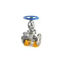 JKTL dn100 pn16 globe valve flanged cf8m image for sea water