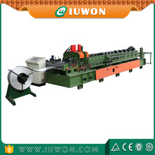 Interchangeable C Z Shaped Steel Purlin Machine