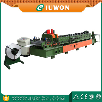 China for C Purlin Roll Forming Machine Interchangeable C Z Shaped Steel Purlin Machine supply to Nigeria Exporter