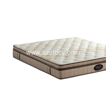 Reliable for King Size Mattress Cashmere fabric bed mattress supply to Netherlands Exporter