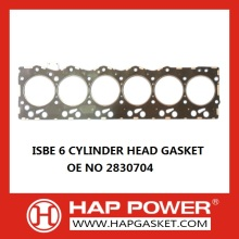 Good Quality for Cummins Head Gasket 2830704 ISBE 6 Cylinder Head Gasket supply to New Caledonia Importers