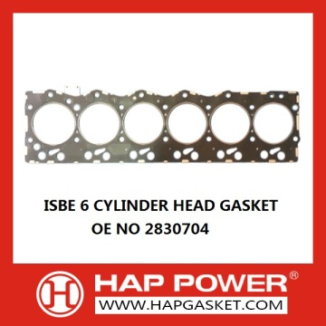 Factory directly for Cummins Head Gasket 2830704 ISBE 6 Cylinder Head Gasket export to Zambia Importers