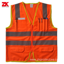 Hi-vis yellow reflective vest