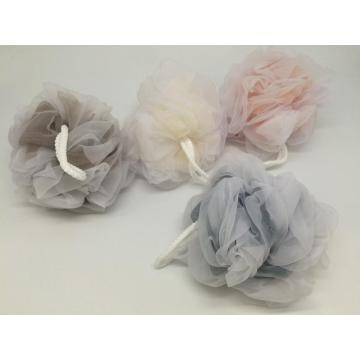 loofah shower mesh organze bath sponge