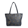 Elegant Women Handbags Leather Embroidery Shoulder Bags