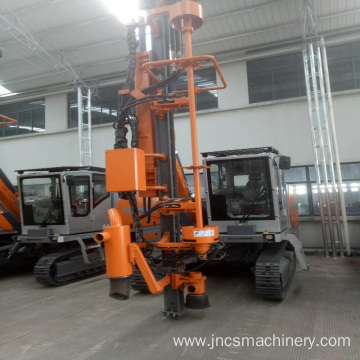 crawler type submersible drill rig