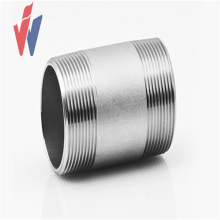 Galvanized threaded steel pipe nipple