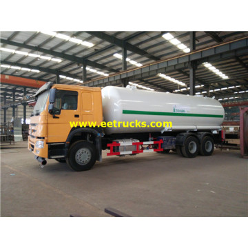 25000L 370hp Propane Delivery Tank Vehicles