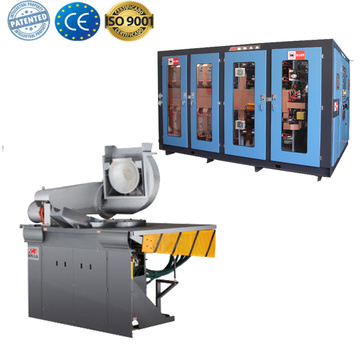 Industrial copper melting furnace machine