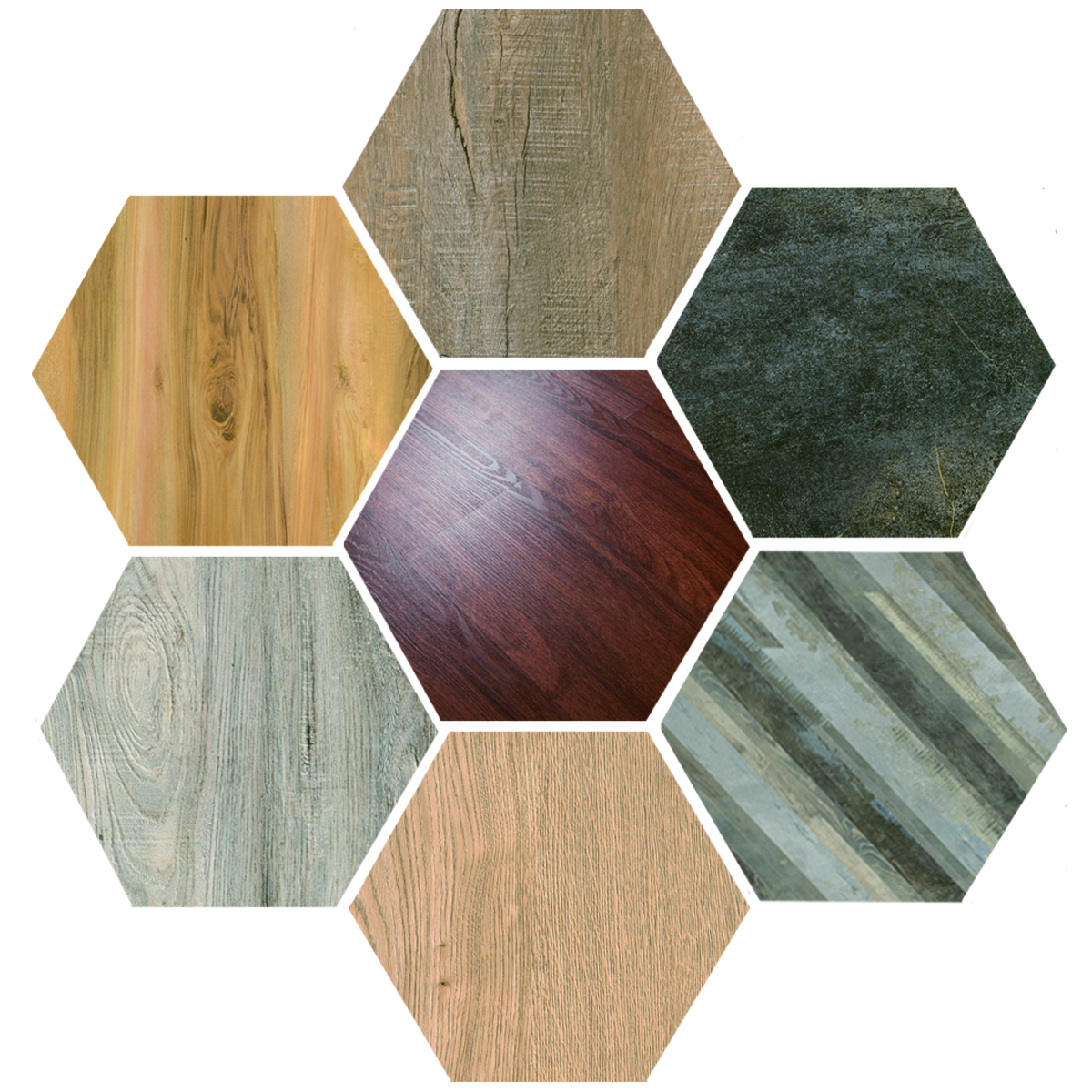 Wood Grain Spc Flooring Wholesale