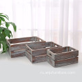 Wholesale wine champagne used wooden shipping crates
