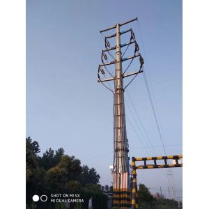 Transmission Line Steel Tubular Pole