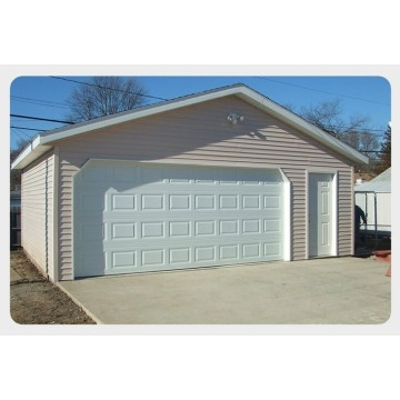 Alumini Alloy Residential Door Garage Seksionale