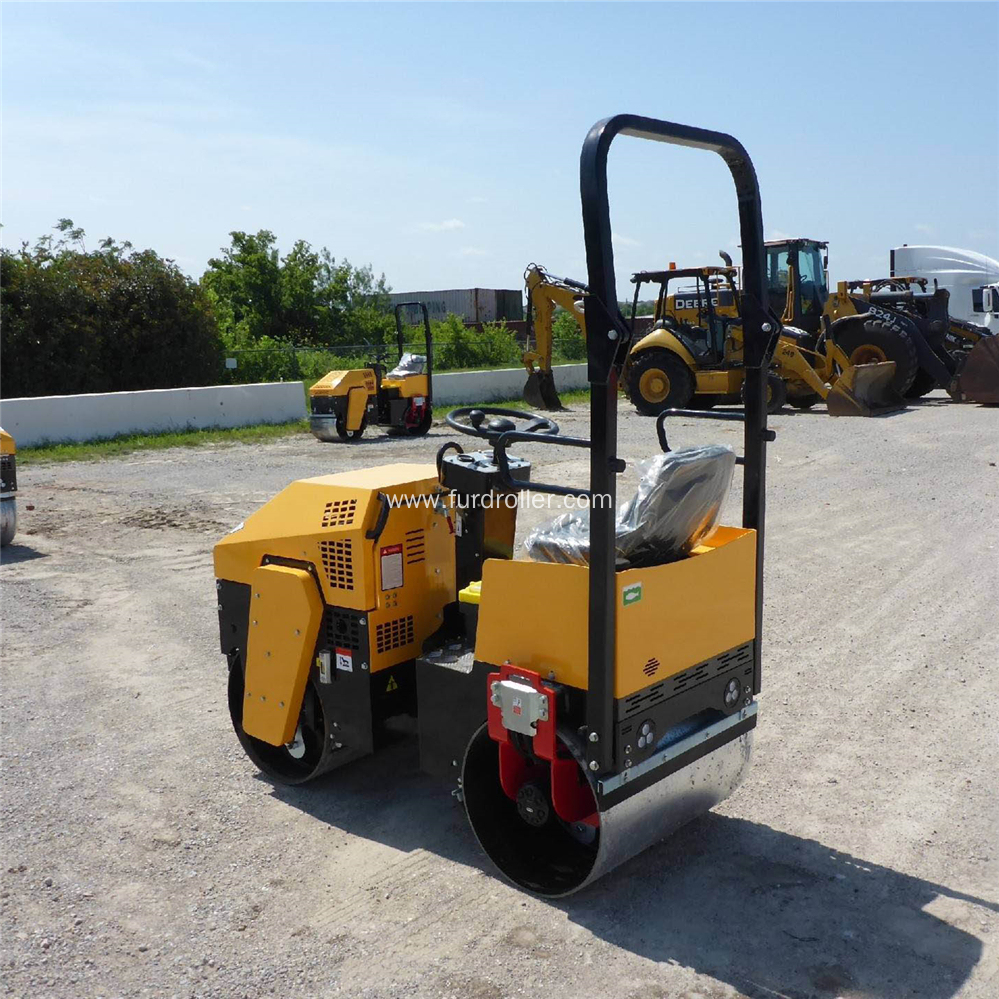1 Ton Double Drum Asphalt Road Roller