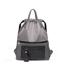 Unique Design Nylon Drawstring Quality Backpacks for Women