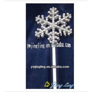 Bride Costume Party Princess Snowflake Scepter