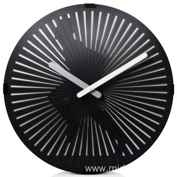 Europe style for 12 Inch Wall Clock 30CM Round Moving Wall Clock supply to Indonesia Suppliers