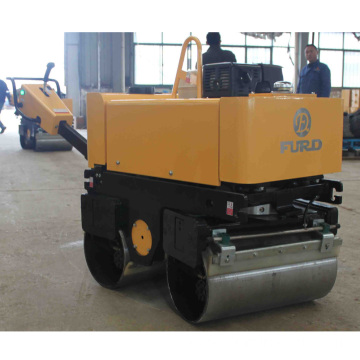 Double Drum Walk-behind Soil Compactor Asphalt Roller