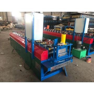 Metal wall siding making machine