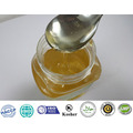 cream white granulated bee honey