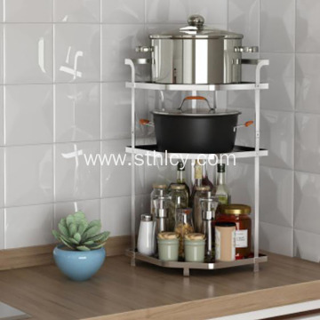 304 Stainless Steel Kitchen Seasoning Rack