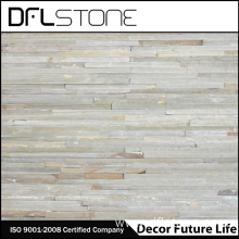 High Quality for Faux Stone Panels White Quartz Water Flow Natural Stacked Stone Panel supply to Portugal Factory