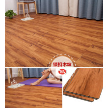 4.2mm unilin click wooden flooring SPC floor tiles