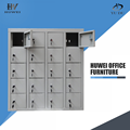 Metal cell phone charging station lockers