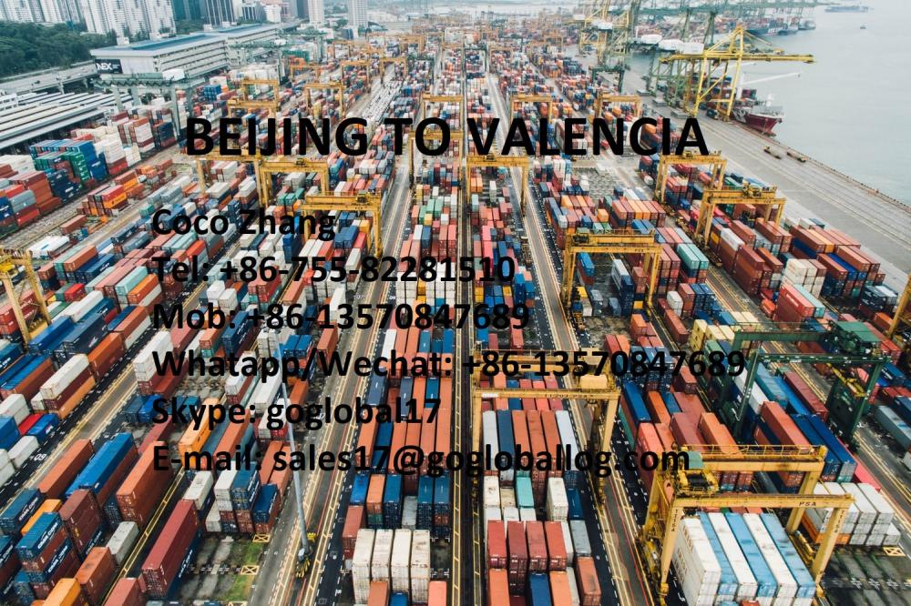 Mainland Beijing Sea Freight to Spain Valencia