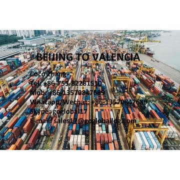 China for Sea Freight To Europe Mainland Beijing Sea Freight to Spain Valencia export to United States Manufacturer