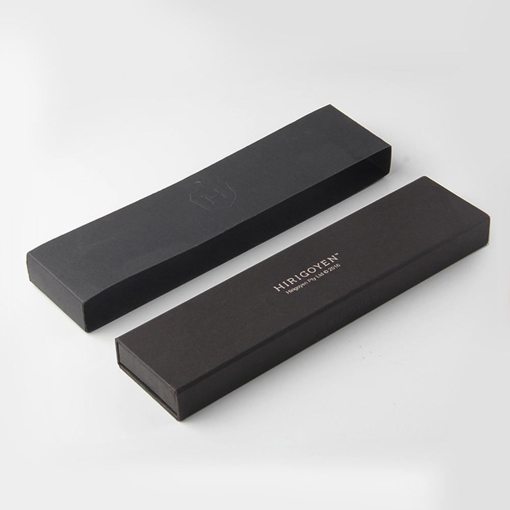 Black Gift Packaging Hard Paper Watch Box