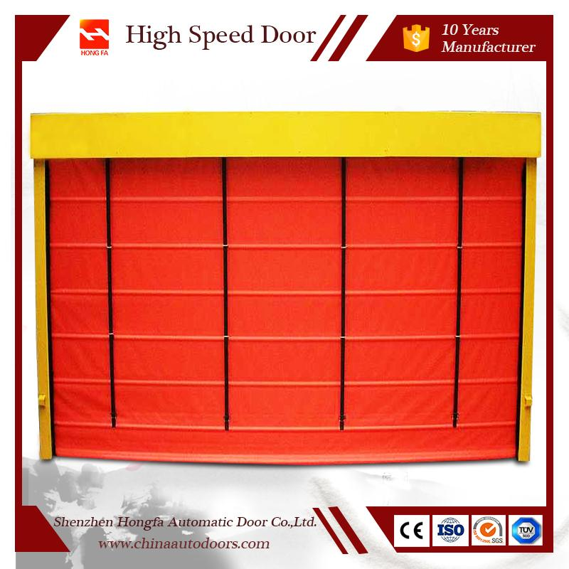 Factory Price Pile Interior Flexible Door For