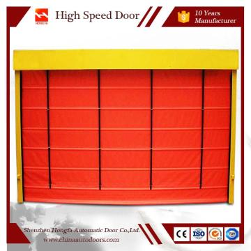High Speed Fold Up Roller Shutter Door