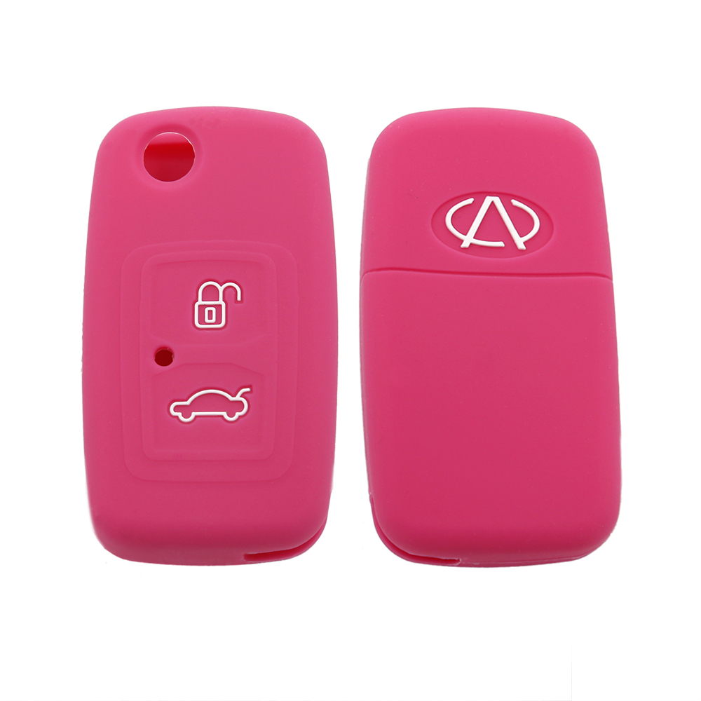Chery 2Buttons Silicone Key Cover