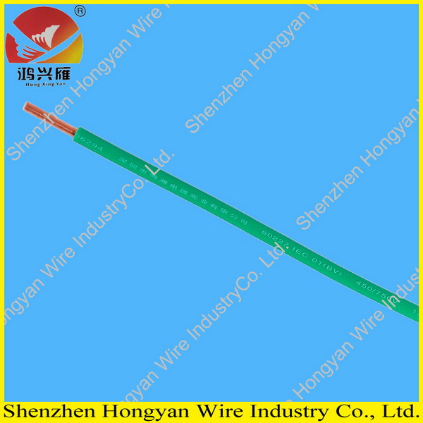 single core 1.5mm pvc insulated electric cable